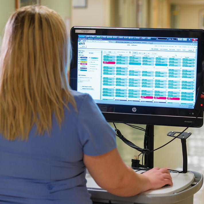 Empowering Nurses through electronic scheduling